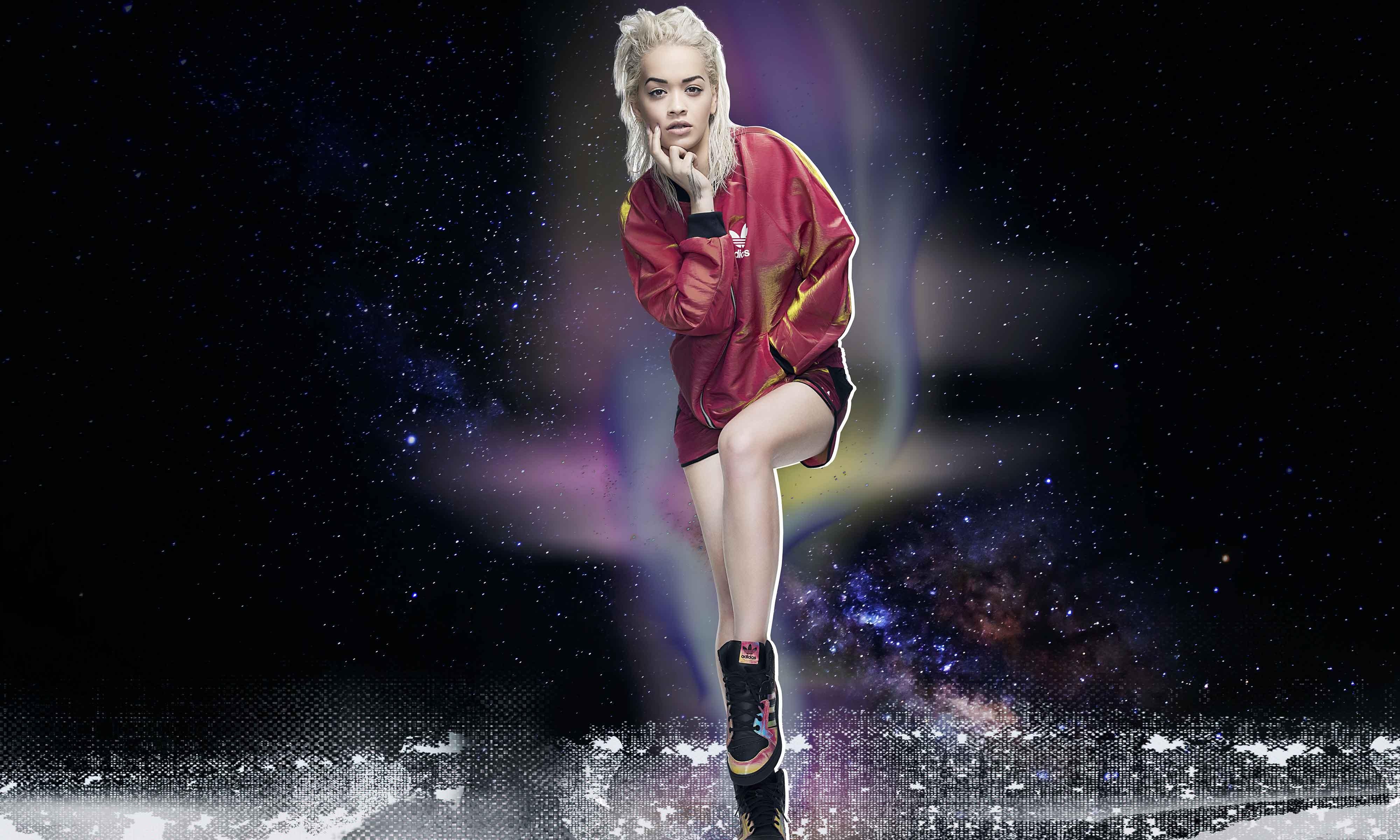 科幻太空之旅,adidas Originals Rita Ora Space Shifter 系列释出