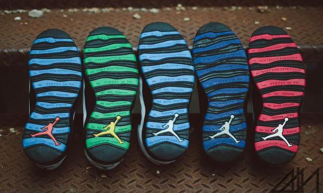 "Air Jordan X 即将于 2016 年带来 ""City Pack"" 城市别注系列"