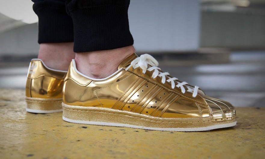 """""""金脚"""" 大王,adidas Originals Superstar 80s """"Liquid Gold"""" 释出"""