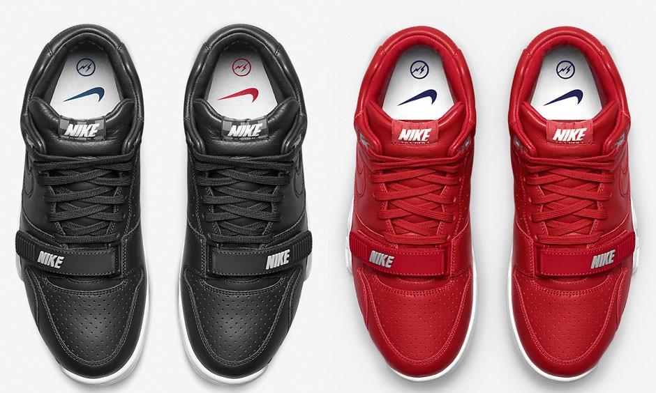 藤原浩亲身发布,NikeLab 推出全新配色 Air Trainer 1 x fragment 鞋款