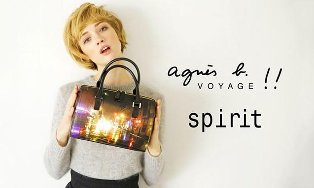 agnès b. VOYAGE 推出品牌创立 40 周年纪念包袋