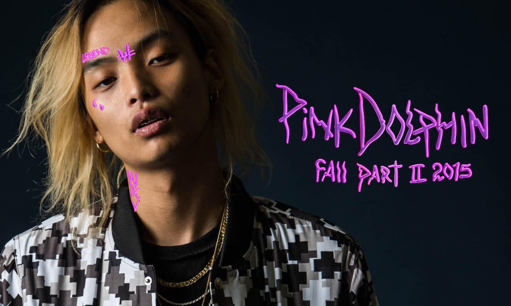 Keith Ape 演绎 Pink Dolphin 2015 最新秋冬系列造型特辑