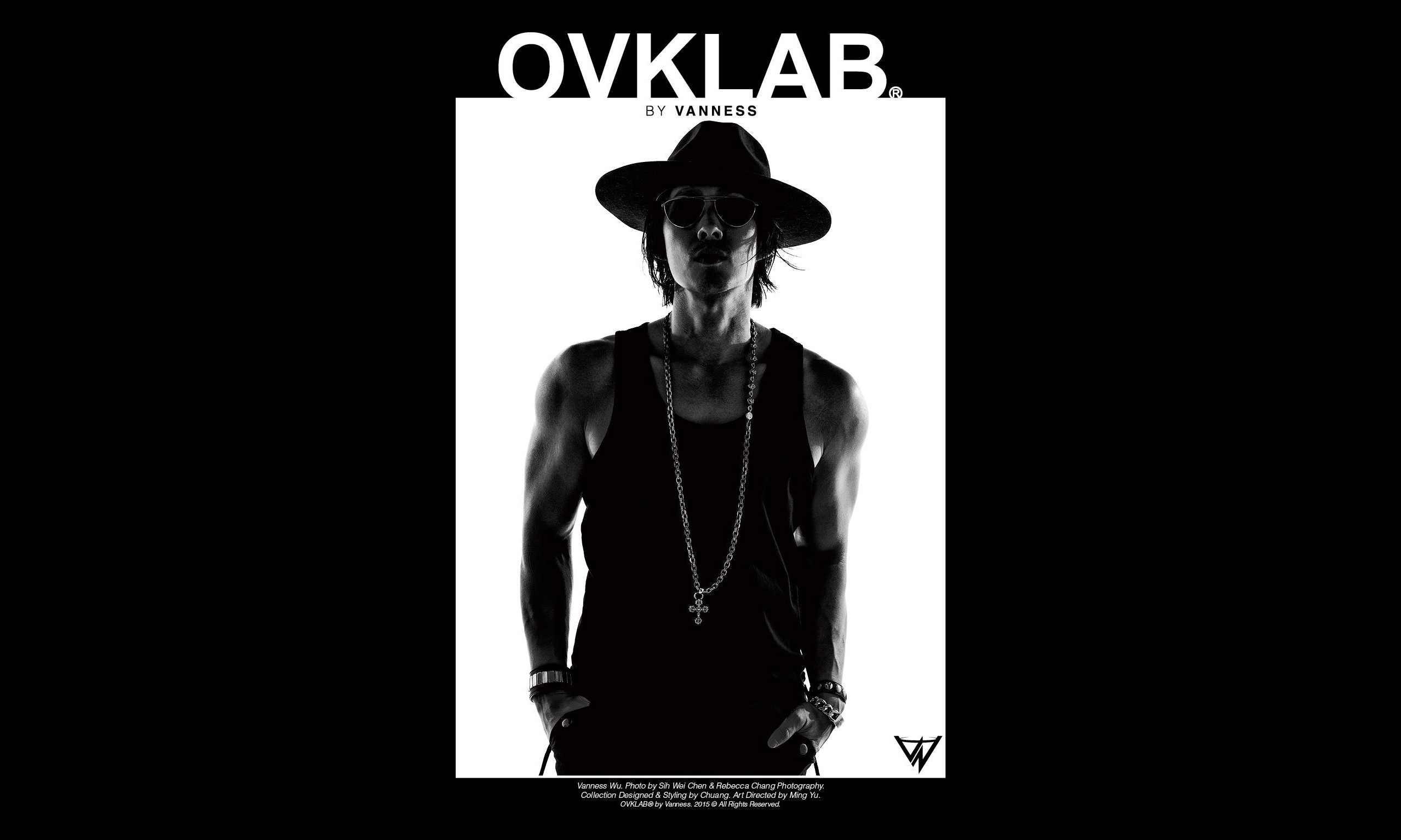 吴建豪演绎,OVKLAB® BY VANNESS 2015 秋冬造型 Lookbook 释出