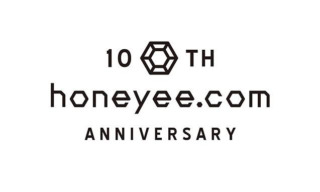 honeyee.com 10 周年纪念商店即将在 ZOZOTOWN 上线
