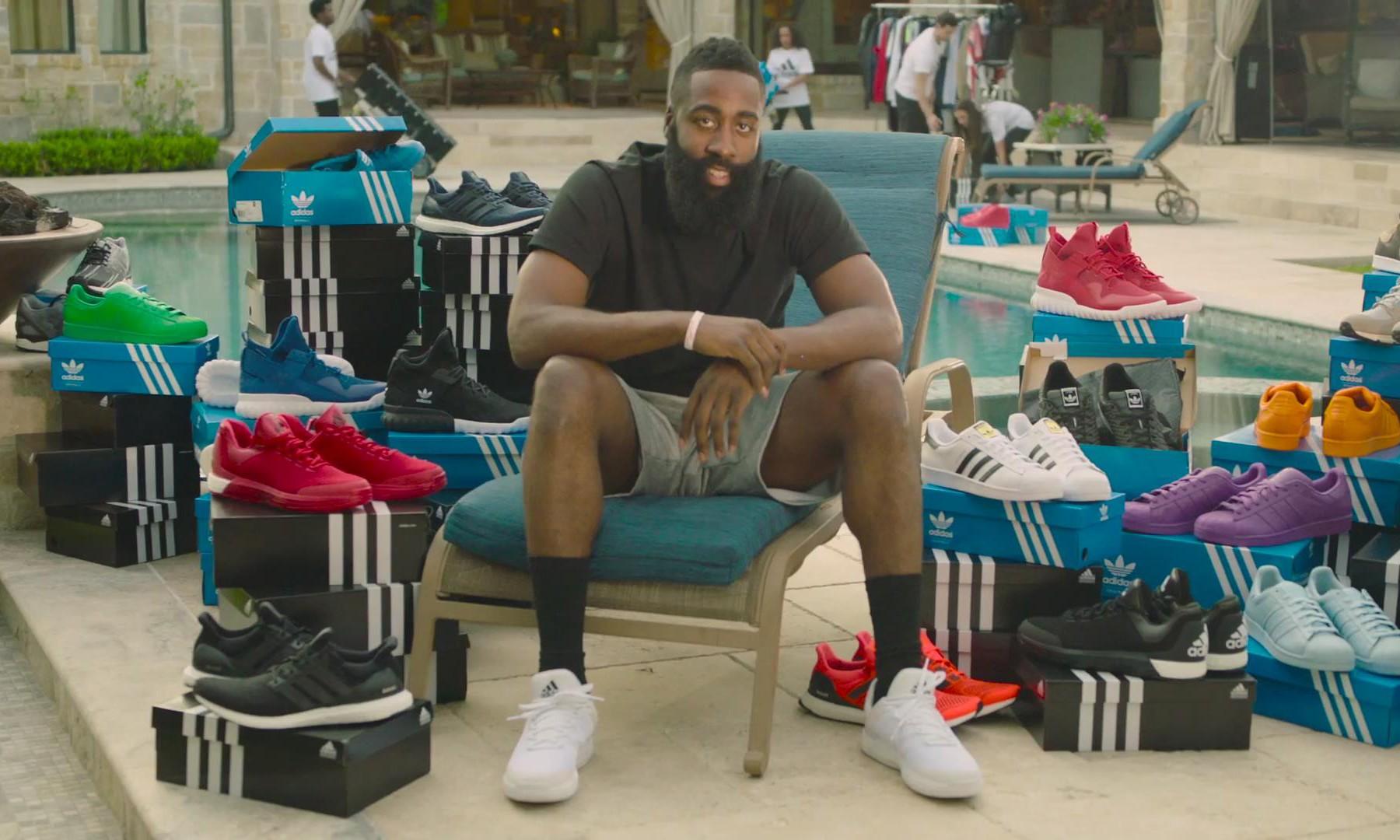 正式入主!James Harden 最新 adidas 广告片发布