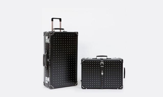 ALEXANDER McQUEEN x GLOBE-TROTTER 合作行李箱