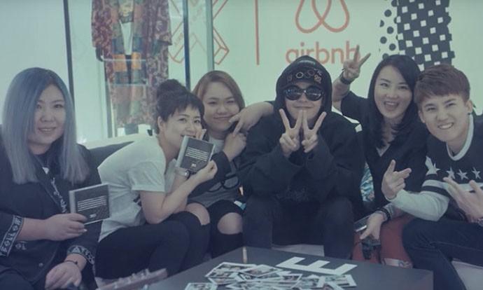 Airbnb 幸运儿入驻 G-Dragon 工作室互动影片发布