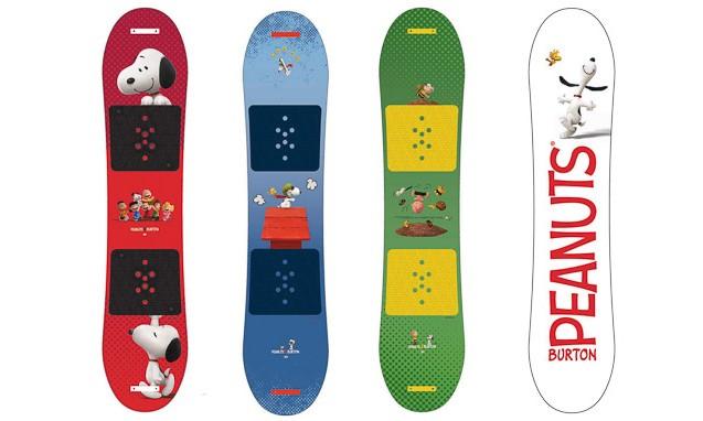BURTON x Peanuts 滑雪板系列