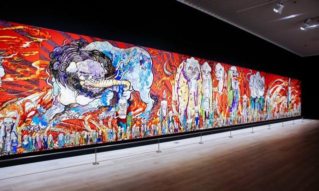 村上隆「The 500 Arhats」艺术展开幕