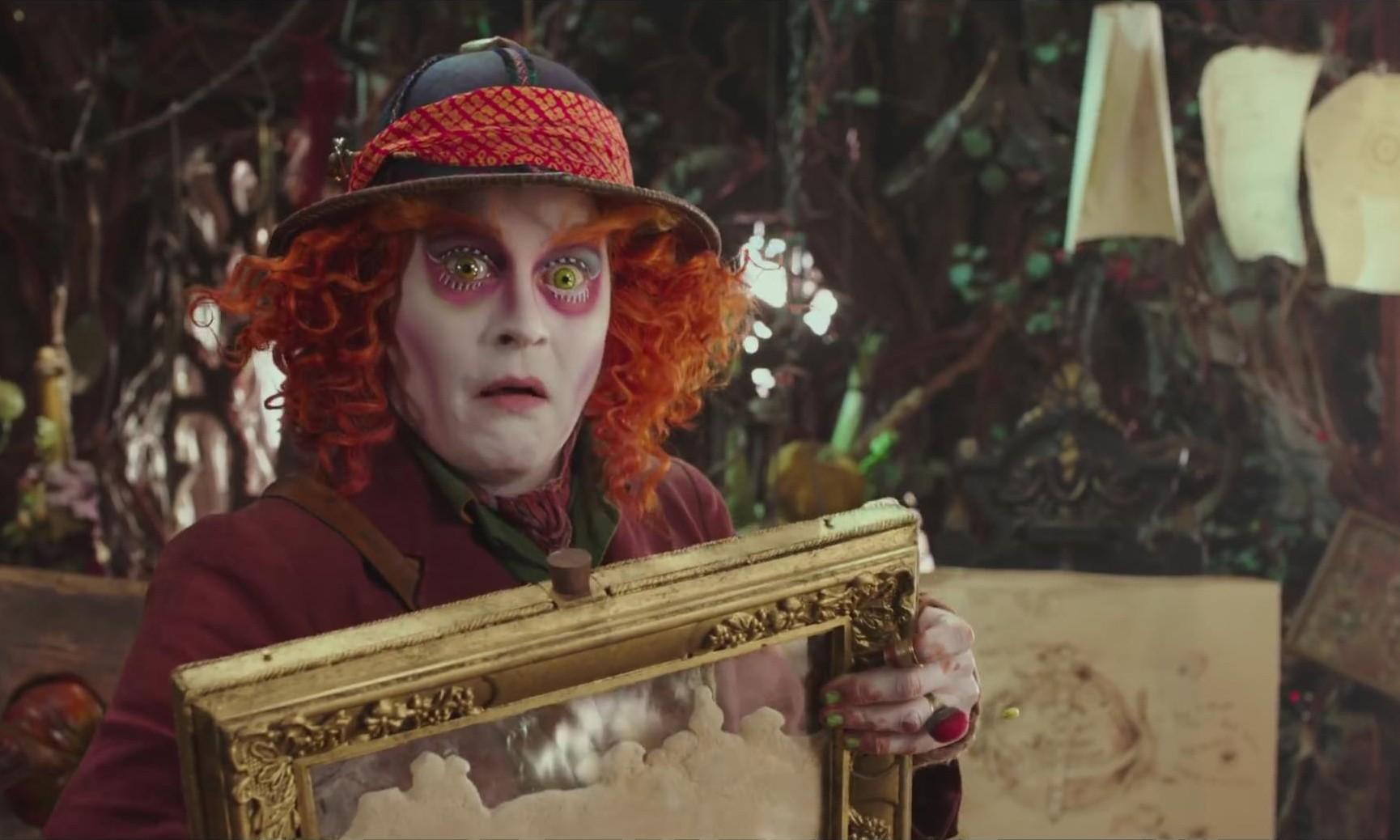 《爱丽丝梦游仙境 2:镜中奇遇记》预告片正式发布