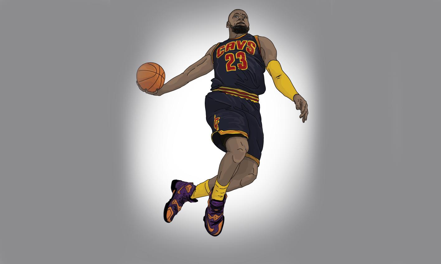 专属配色,插画师 Oli Holmes 带来 NBA 球星节日限定 Sneaker 特辑