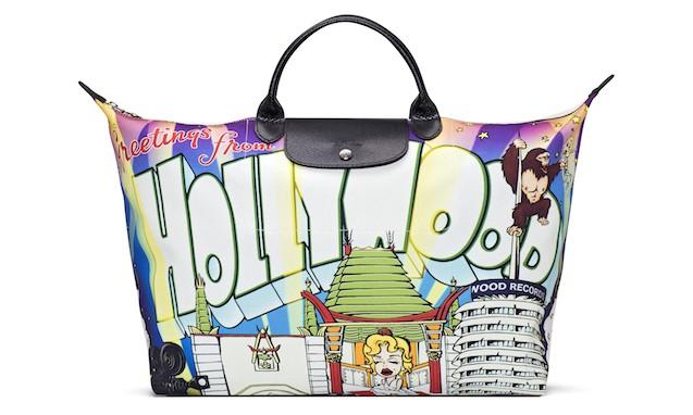 LONGCHAMP x Jeremy Scott 十周年纪念版包袋