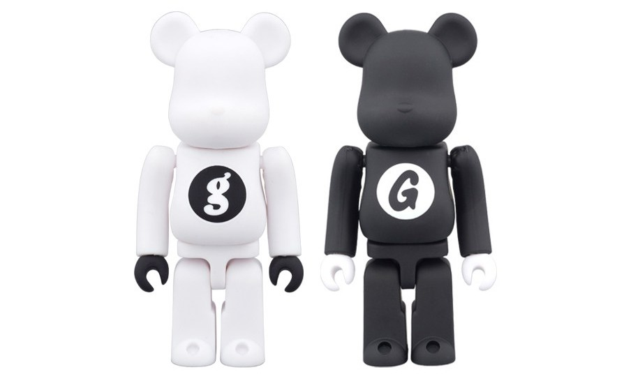 GOODENOUGH x MEDICOM TOY 联名别注 BE@RBRICK 玩偶