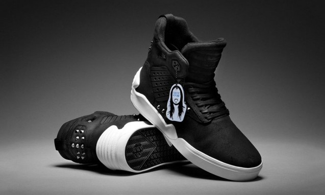 Steve Aoki x Supra Skytop IV 限量合作鞋款