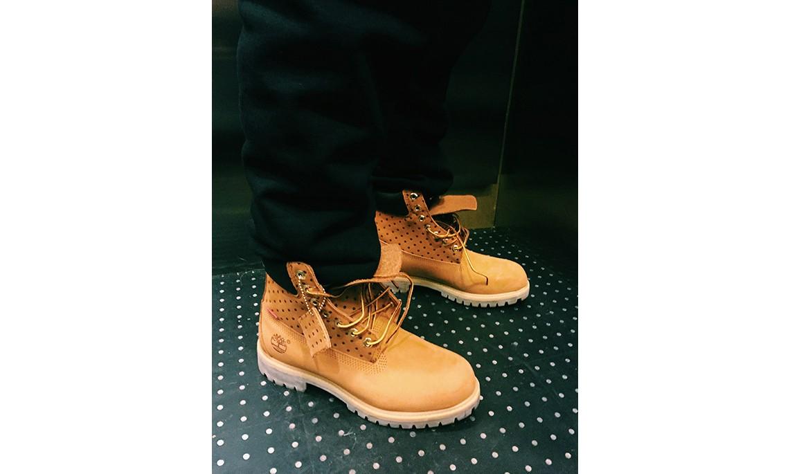 COMME des GARCONS SHIRT x Supreme x Timberland 秋冬联名 6 寸靴发布