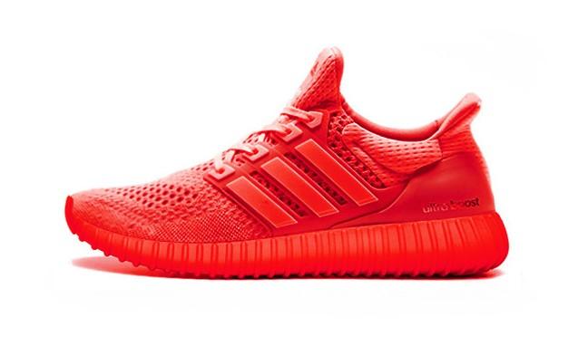 MBROIDERED 创意设计 YEEZY 鞋底 adidas Ultra Boost