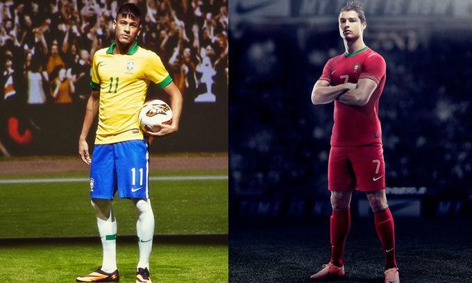 内马尔或将取代 C 罗成为 Nike Football 头号巨星
