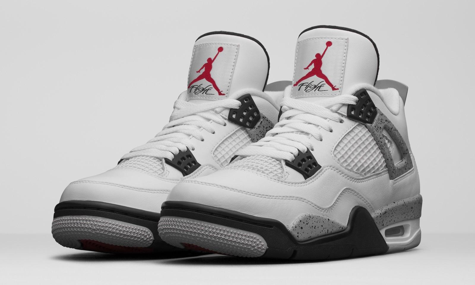 """元年经典重现,Air Jordan IV Retro """"Cement"""" 官方清晰照欣赏"""