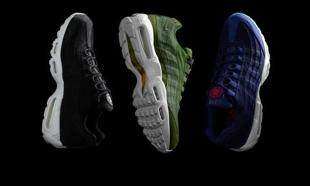 Stussy x Nike Air Max 95 联名鞋款曝光
