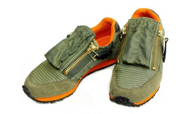 KAPITAL 推出 MA-1 灵感设计的球鞋