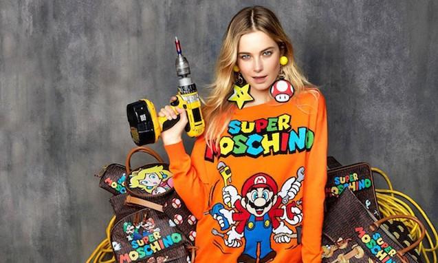 MOSCHINO x Nintendo 《超级马里奥兄弟》 30 周年纪念系列