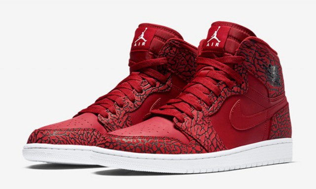 "新年氛围,Air Jordan I High ""Red Elephant"" 即将发售"