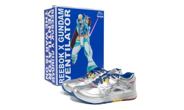 Reebok Classic x GUNDAM Ventilator 合作鞋款终极登场