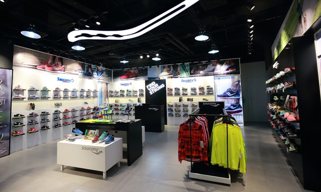 Saucony 最大独立店铺登陆上海