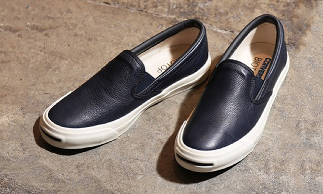 BIOTOP x CONVERSE JACK PERCELL SLIP-ON 合作鞋款