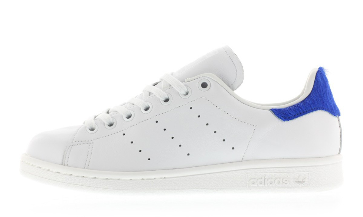 adidas Originals WMNS Stan Smith 全新「Blue Faux Pony Hair」配色鞋款