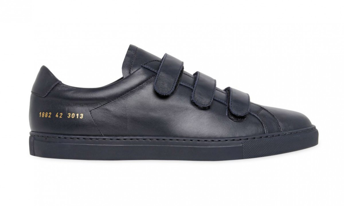 Common Projects 推出全新 Achilles Three Strap Leather 鞋款
