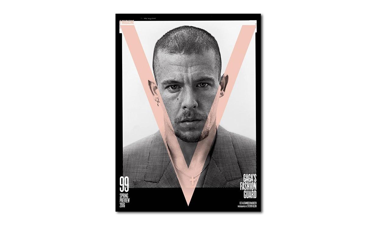 Alexander McQueen、Hedi Slimane & Karl Lagerfeld 拍摄《V Magazine》2016 春季特刊封面