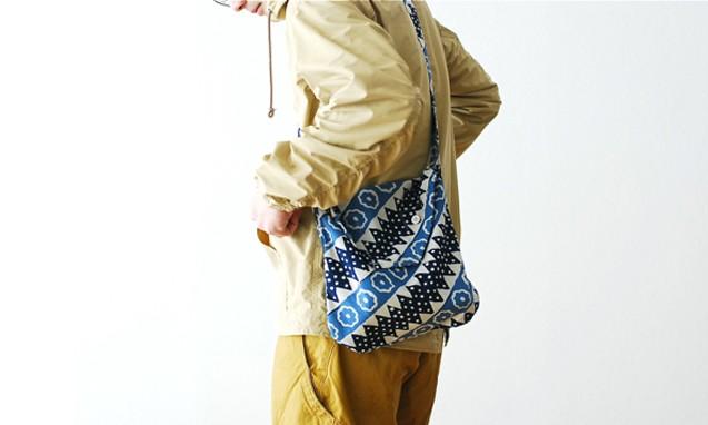 Engineered Garments SHOULDER POUCH 复古挎包