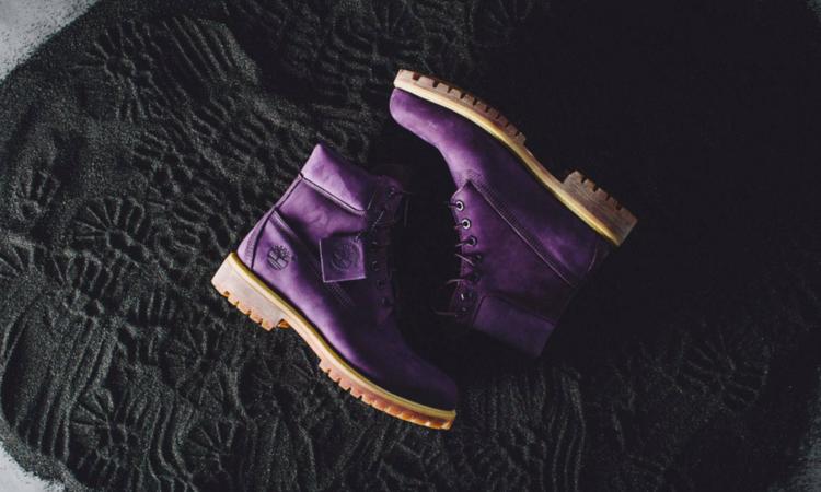 """紫色魅惑,Villa x Timberland """"Purple Diamond"""" 联名 6 寸靴释出"""