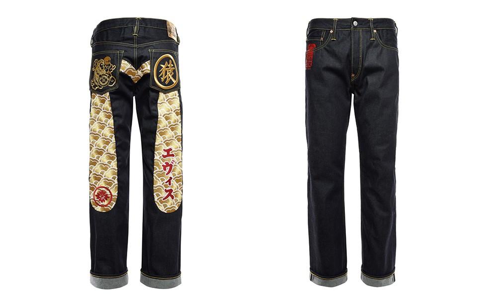 奢华细节惊喜,EVISU 猴年限定丹宁裤珍藏上市