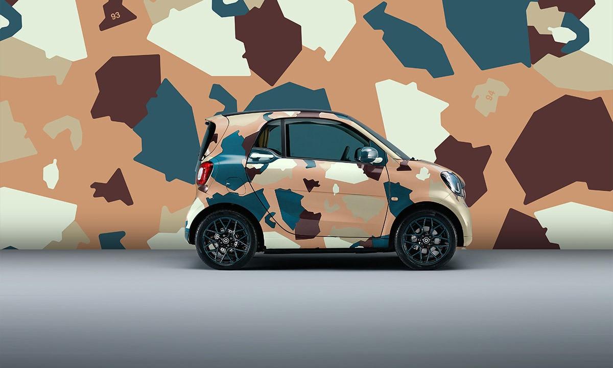 十周年献礼,《ALL GONE》携手 Smart 释出限定涂装车型