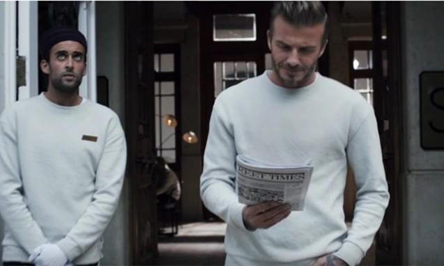 人人都是贝克汉姆,H&M 2016 春季摩登精选系列广告释出