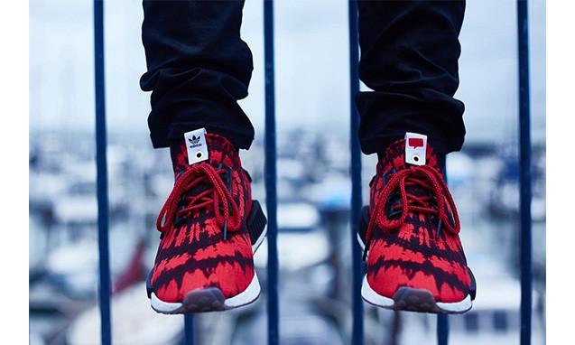 惹眼花纹,Nice Kicks x adidas  NMD 联名鞋款发布
