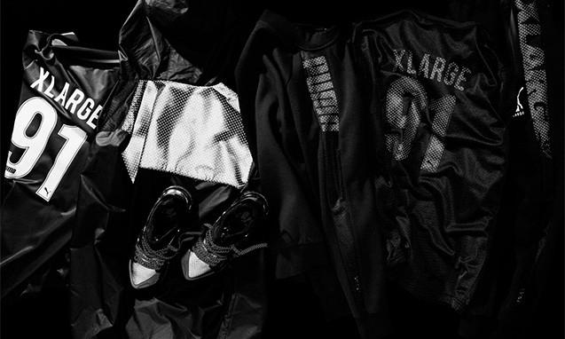 "XLARGE® x PUMA 2016 春夏""BLACK OUT""联名系列"