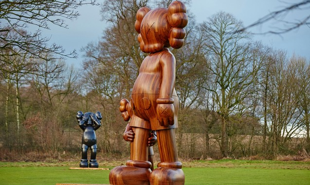 KAWS 英国 Yorkshire Sculpture Park 艺术展一览