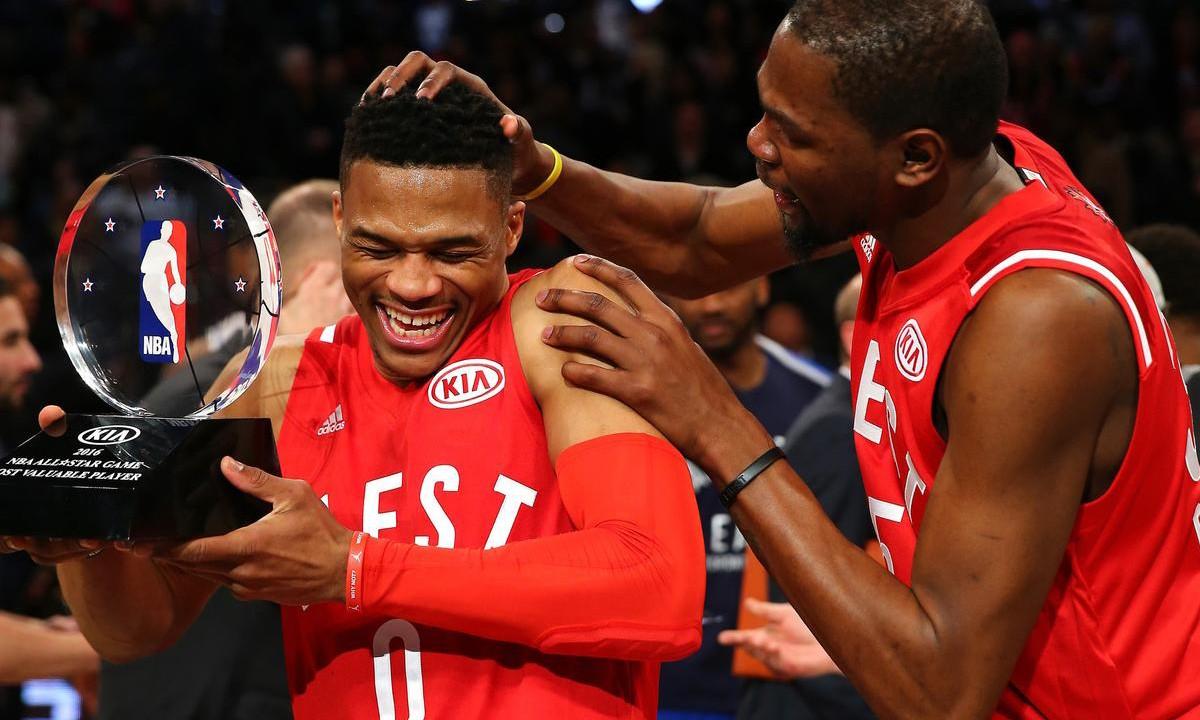 纪录刷新夜,NBA 全明星赛完美落幕