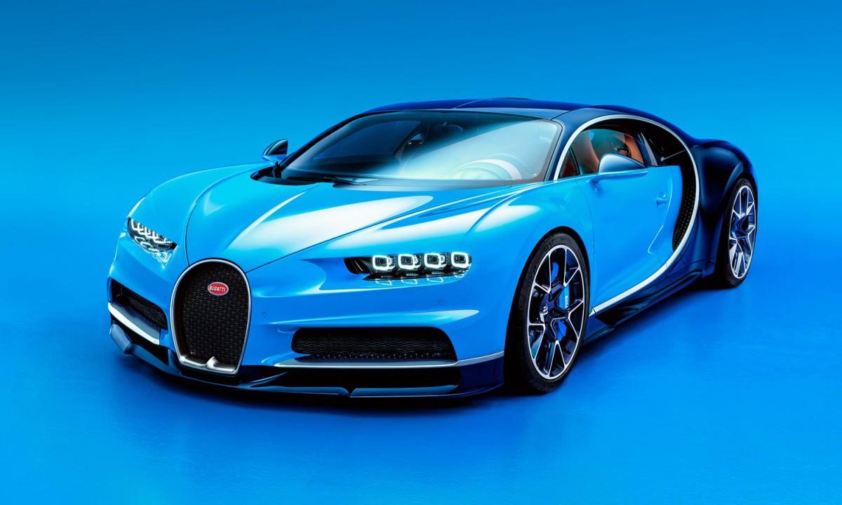 道路猛兽 Bugatti Chiron 正式于日内瓦车展发布