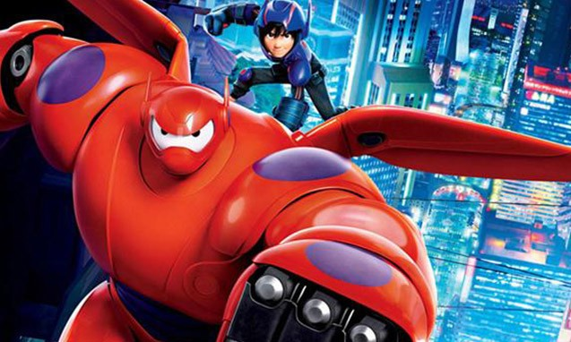 大白又回来了,《超能陆战队》动画版明年开播