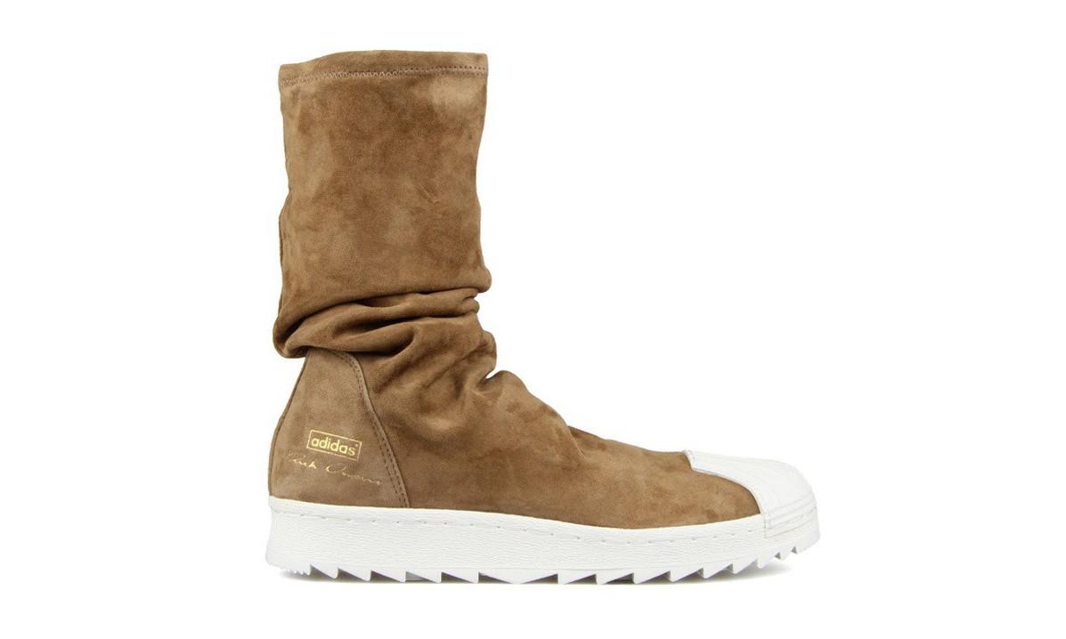 Rick Owens x adidas 全新 Star Ripple Boots 释出