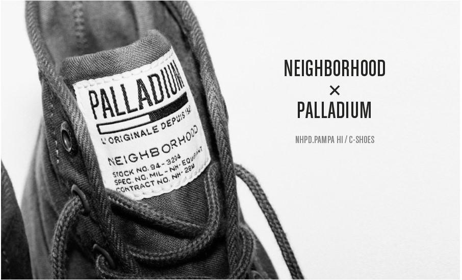 NEIGHBORHOOD 携手 Palladium 打造全新靴形