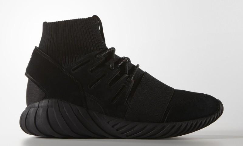 """黑武士持续来袭,adidas Tubular Doom """"Blackout"""" 细节预览"""