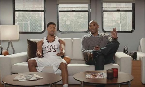 Kobe Bryant 搭档 Michael B.Jordan 拍摄 Apple TV 新广告