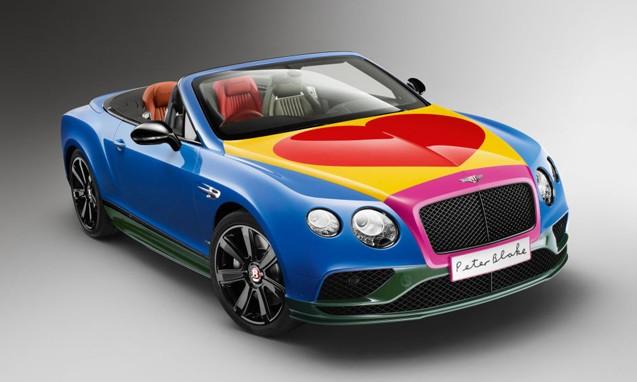 Peter Blake 设计 Bentley Continental GT V8 S 慈善车款