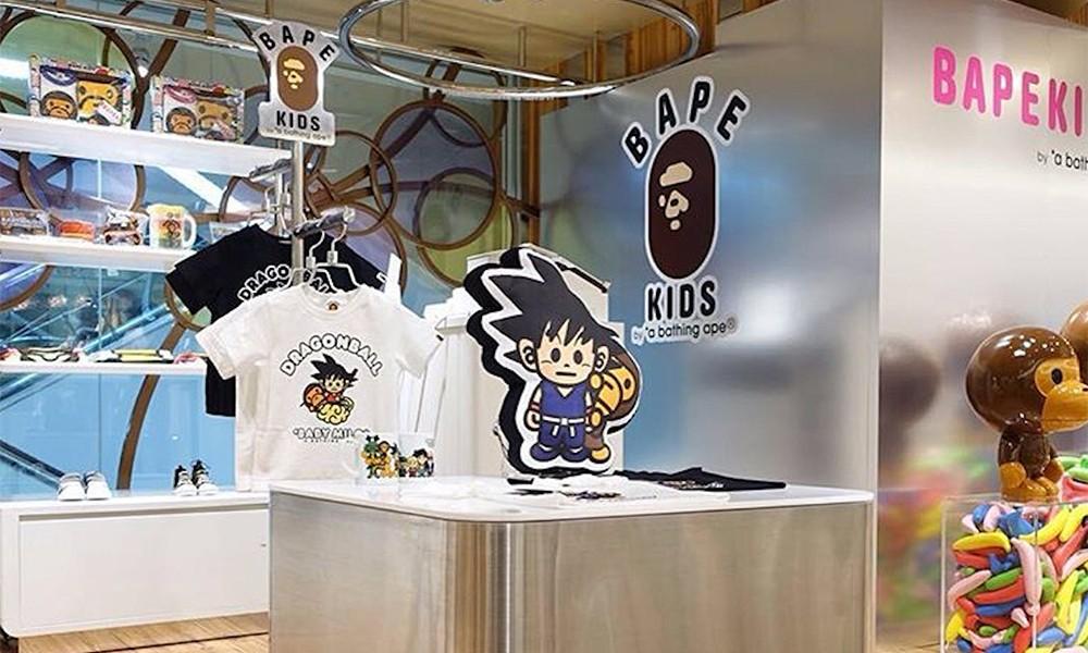"A BATHING APE® 新宿店铺 ""DRAGON BALL"" 主题开启"