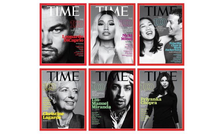 """《TIME》 2016 年 """"全球最具影响力的百大人物"""" 现已公布!"""